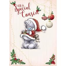 Special Cousin Me To You Bear Christmas Card