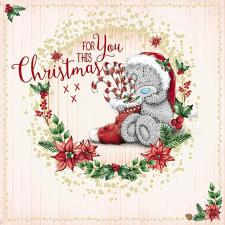 For You This Christmas Me To You Bear Christmas Card