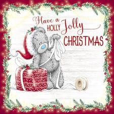 Holly Jolly Christmas Me to You Bear Christmas Card