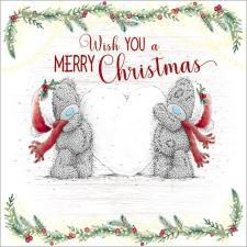 Tatty Teddy With Love Snowball Me to You Bear Christmas Card