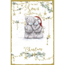 Son & Daughter In Law Handmade Me to You Bear Christmas Card