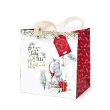 Small Me to You Bear Christmas Gift Bag