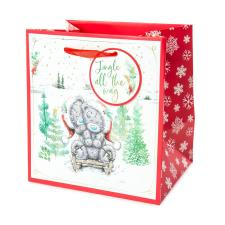 Jingle All The Way Small Me to You Bear Christmas Gift Bag
