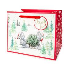 Oh What Fun Medium Me to You Bear Christmas Gift Bag