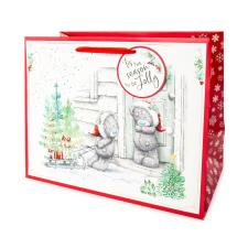 Tis The Season Large Me to You Bear Christmas Gift Bag