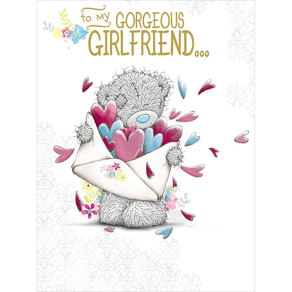 Gorgeous Girlfriend Me To You Bear Large Birthday Card 359
