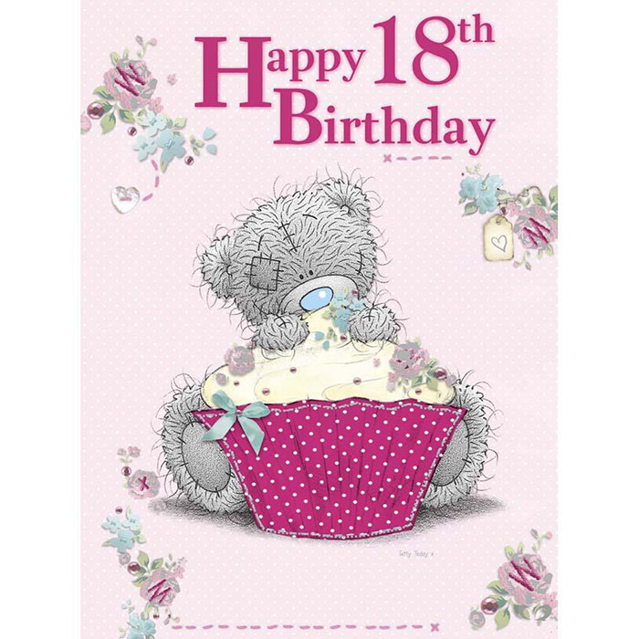 Happy 18th Birthday Me To You Bear Boxed Card