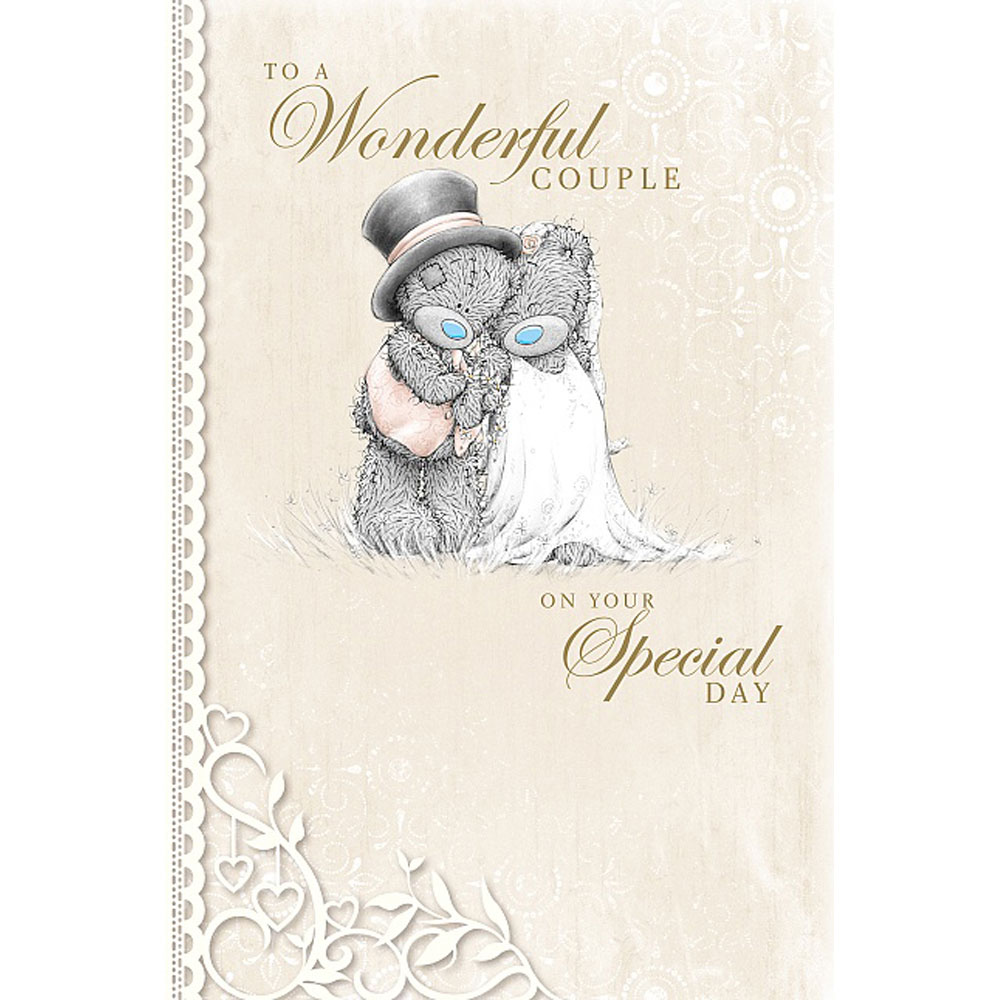 To A Wonderful Couple Me to You Bear Wedding Card (A01MN123) : Me to ...