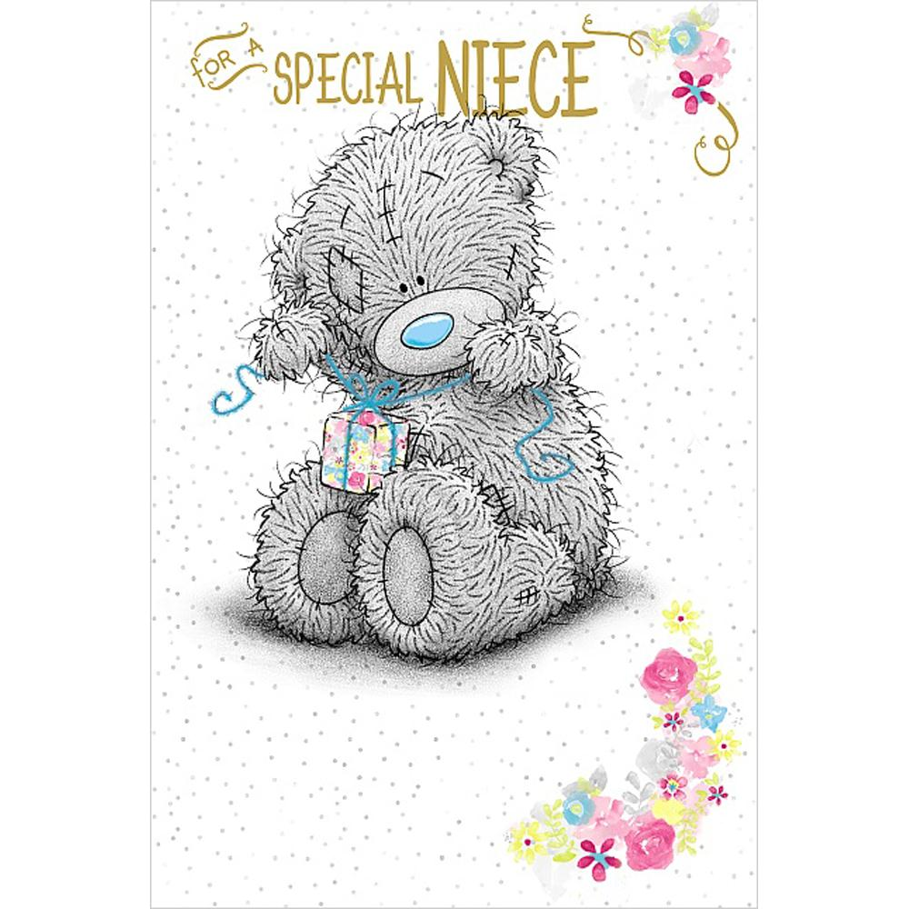 Special niece birthday me to you bear card a01ms321 me for Me to u pictures