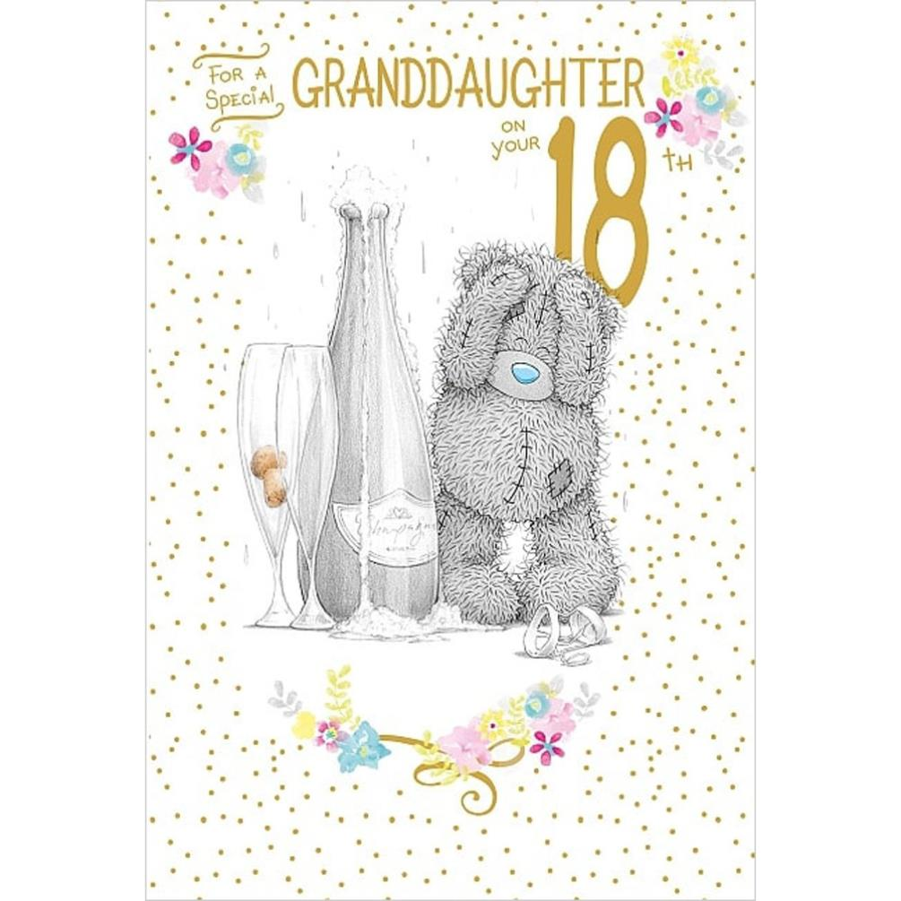 Granddaughter 18th Birthday Me To You Bear Card 249