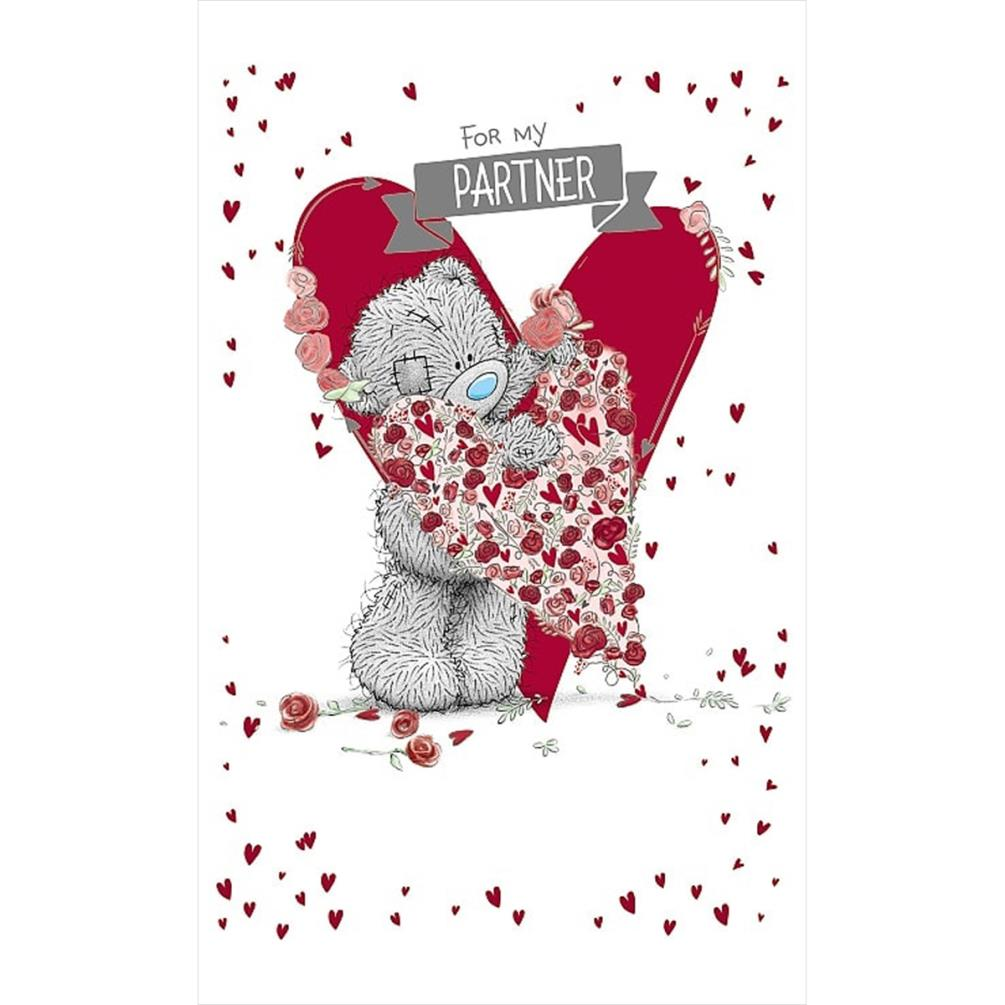 For My Partner Me To You Bear Birthday Card 249