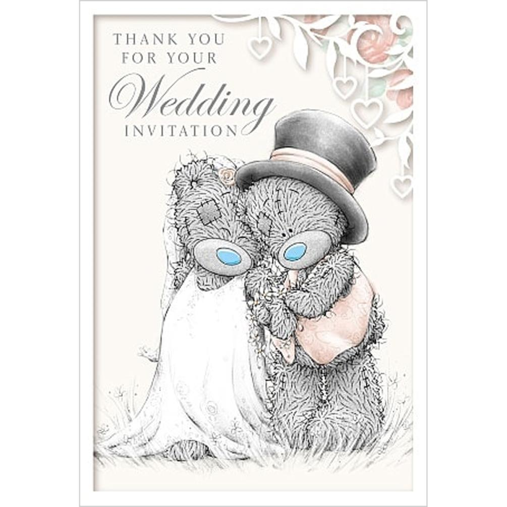 Wedding Invitation Me to You Bear Card (A01PS022) : Me to You Bears ...