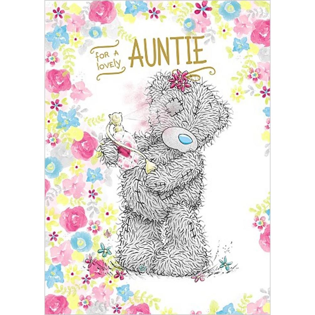 Auntie Birthday Me To You Bear Card 179
