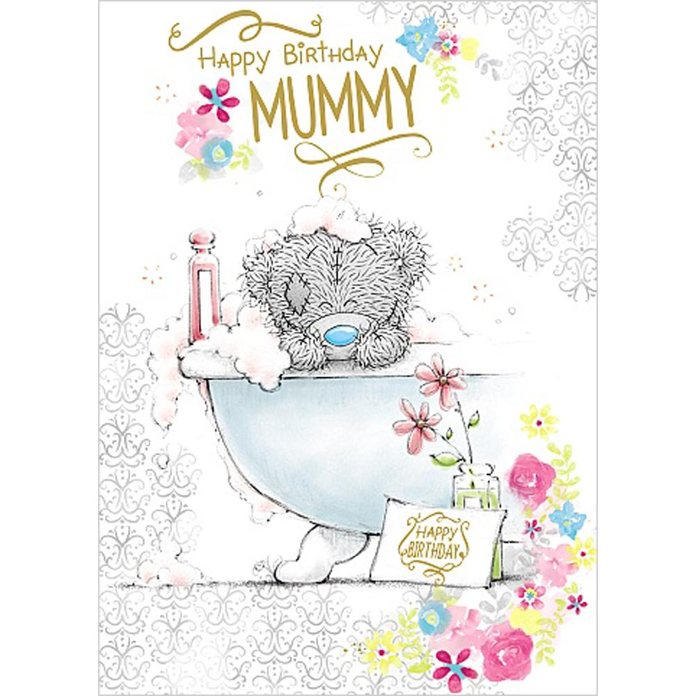 Happy Birthday Mummy Me to You Bear Card A01SS491 Me to You – Me to You Birthday Card