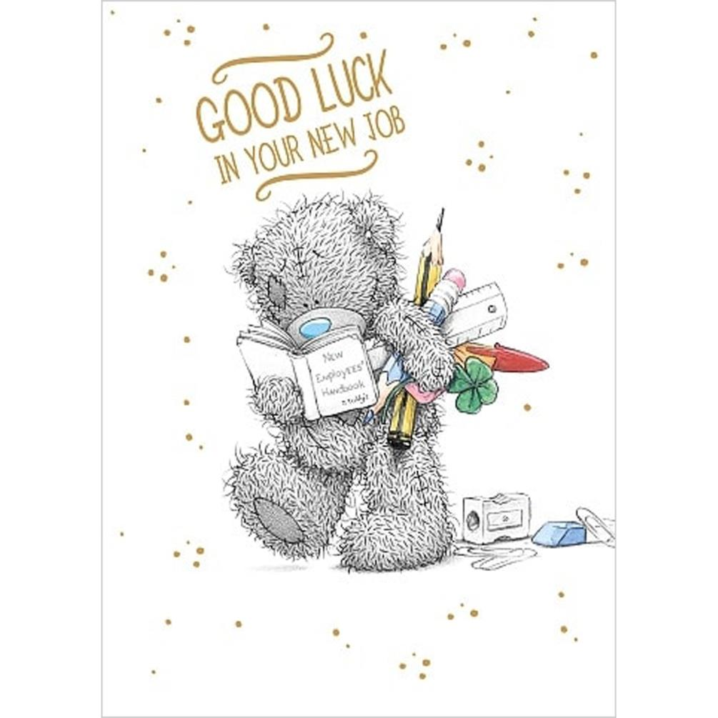 Good luck new job me to you bear card a01ss534 me to for Me to u pictures