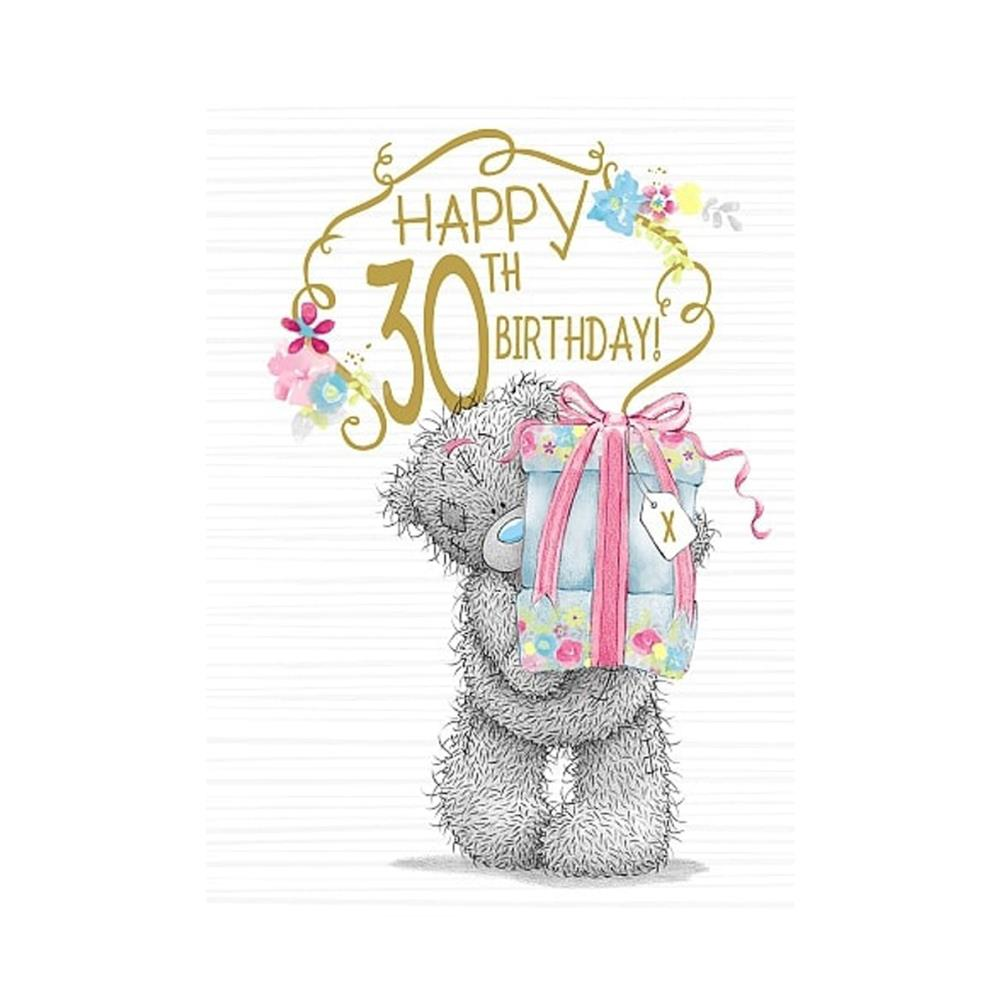 Happy 30th birthday me to you bear birthday card a01ss540 for Me to u pictures