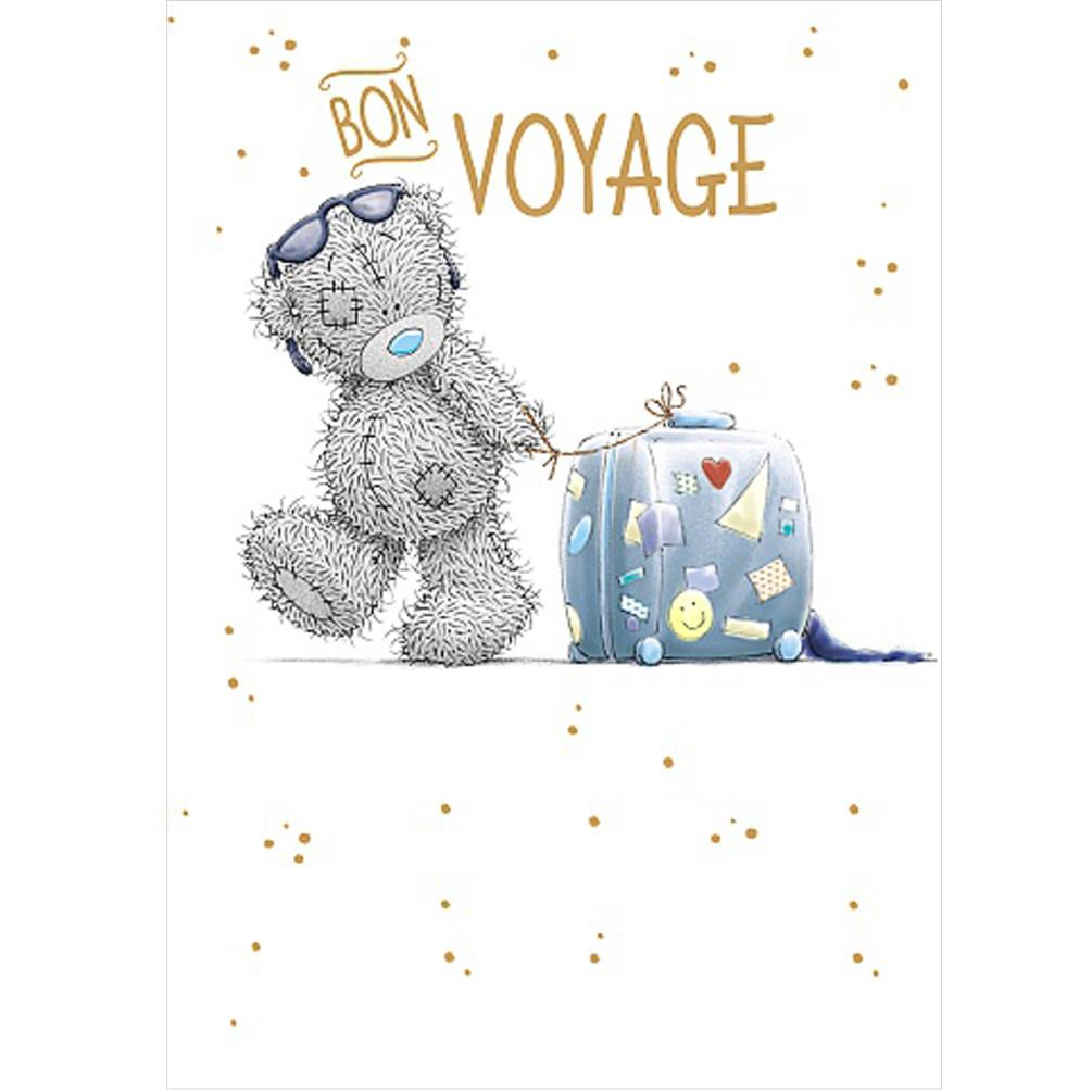 Bon voyage me to you bear card a01ss545 me to you for Me to u pictures