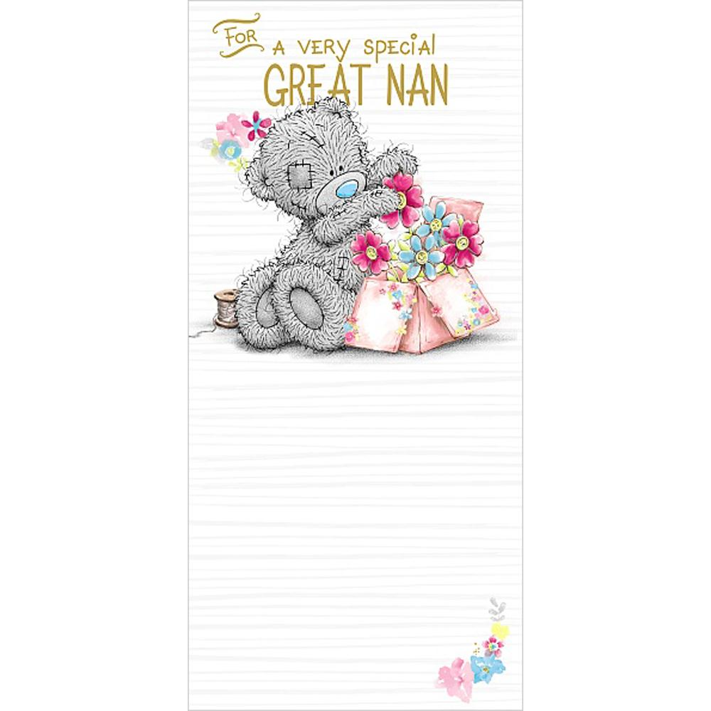 Great Nan Me To You Bear Birthday Card GBP189