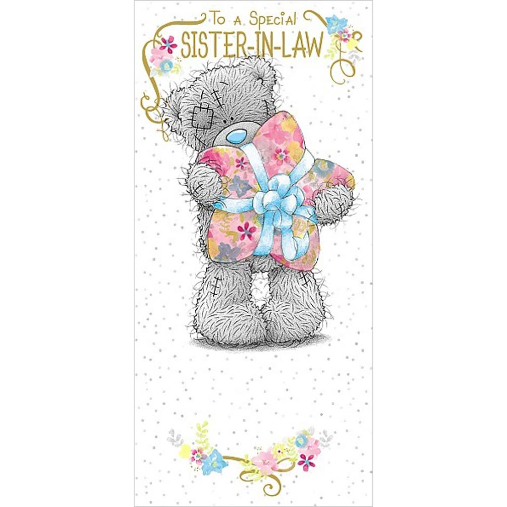 SisterInLaw Birthday Me to You Bear Card A01ZS156 Me to You – Tatty Teddy Birthday Cards