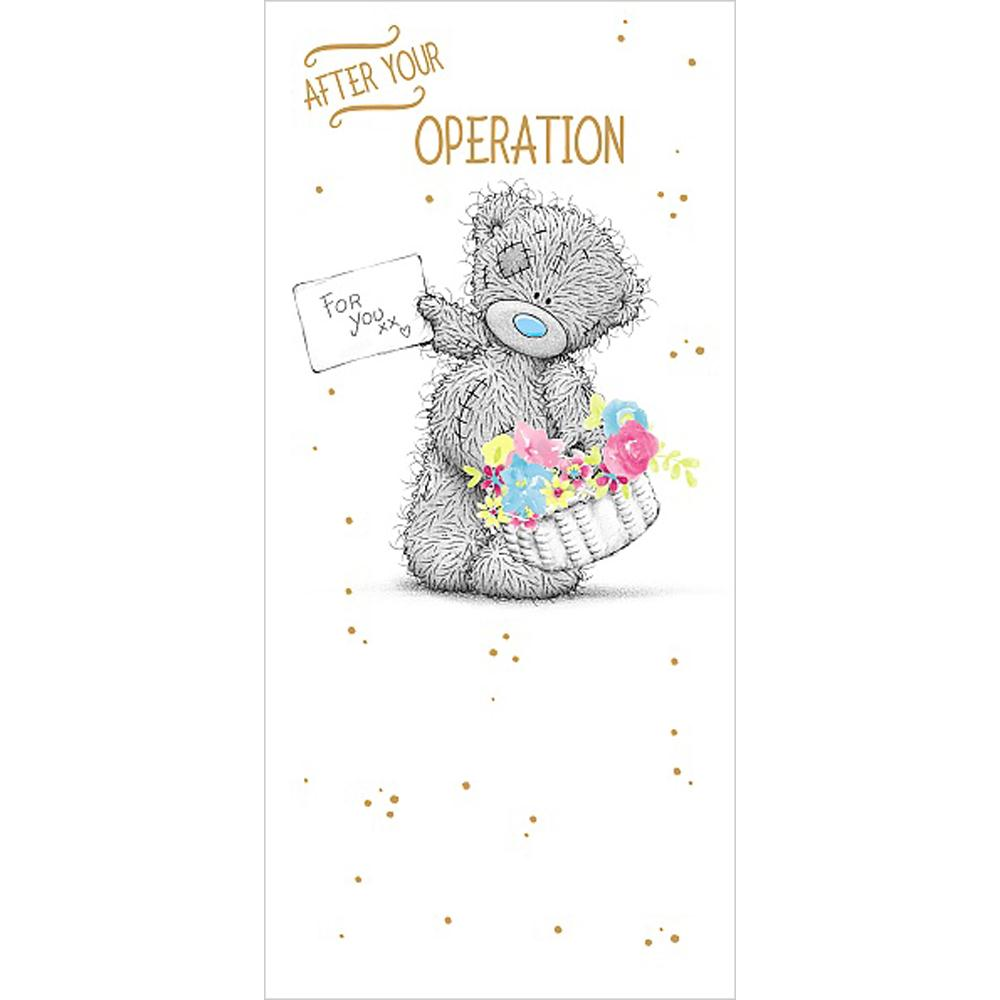 After Your Operation Get Well Soon Me To You Bear Card A01ZS168 Me To You Bears Online Store