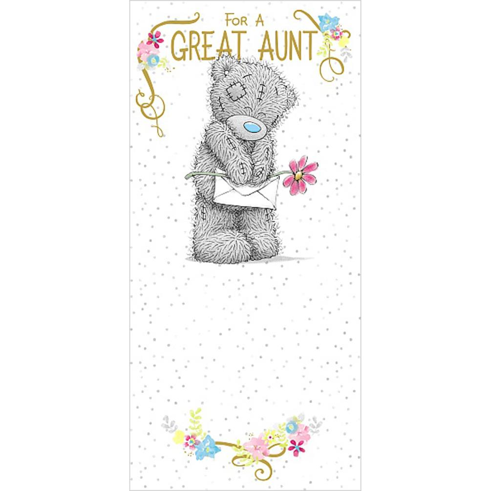 Great Aunt Me To You Bear Birthday Card 189