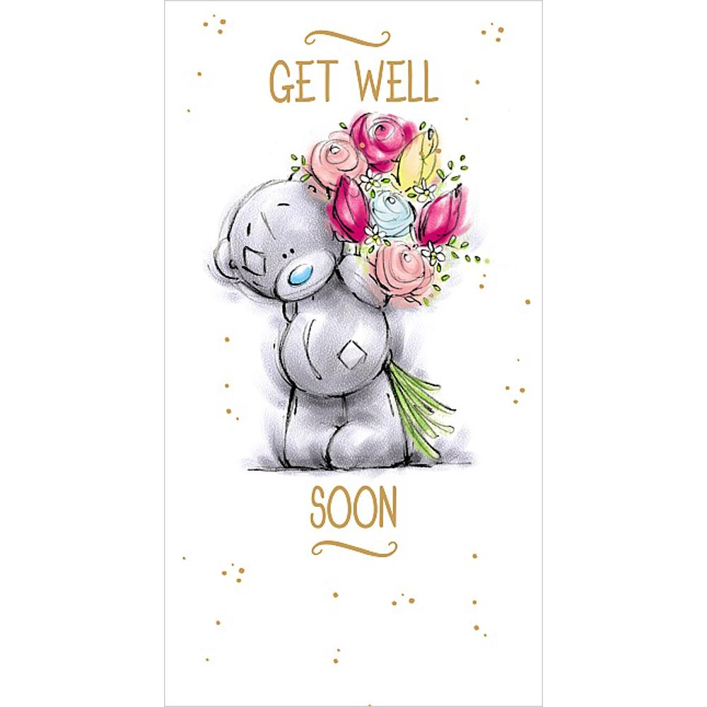 Get Well Soon Me to You Bear Card (A91CS016) : Me to You ...