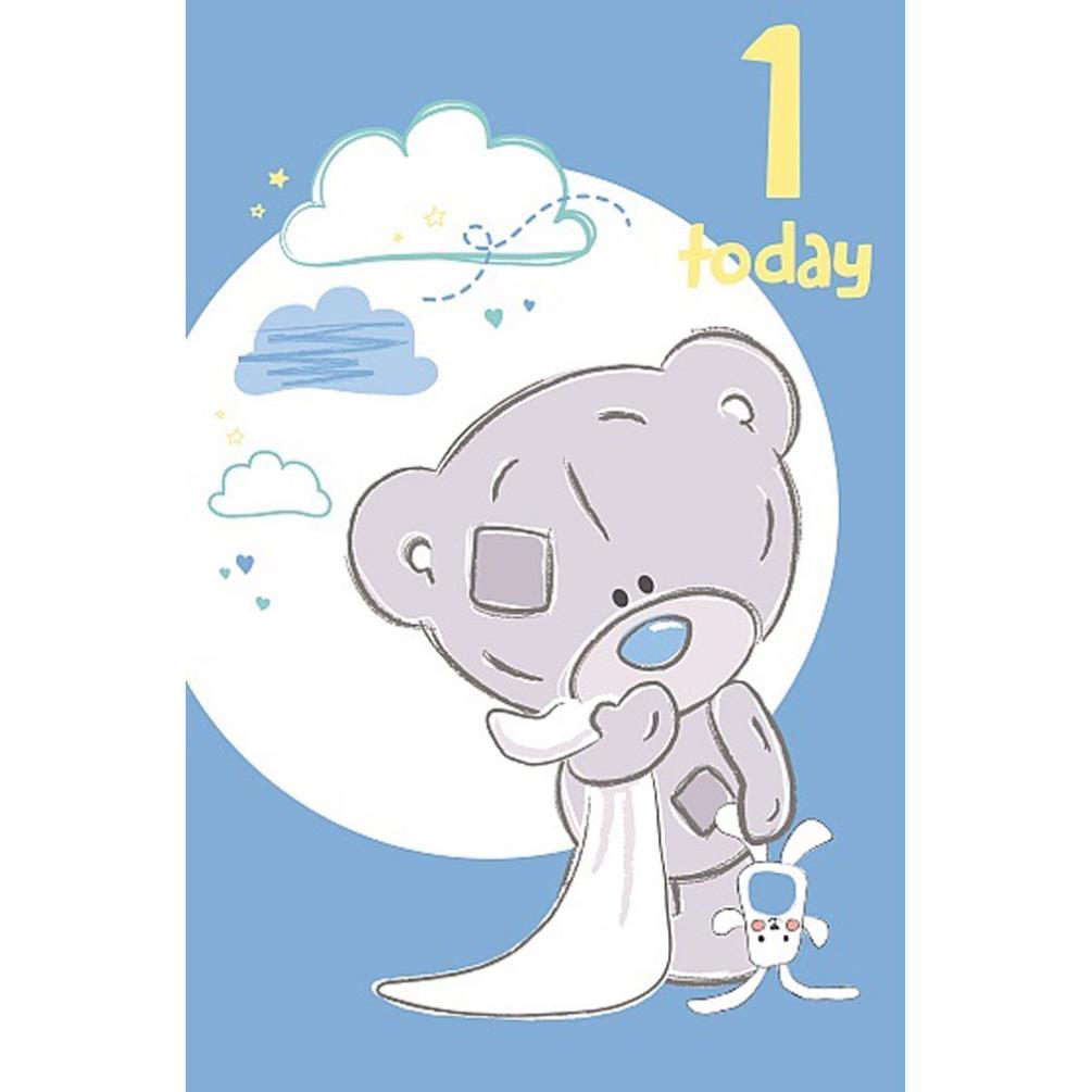 1st Birthday Boy Tiny Tatty Teddy Me to You Bear Card (A92ES016 ...
