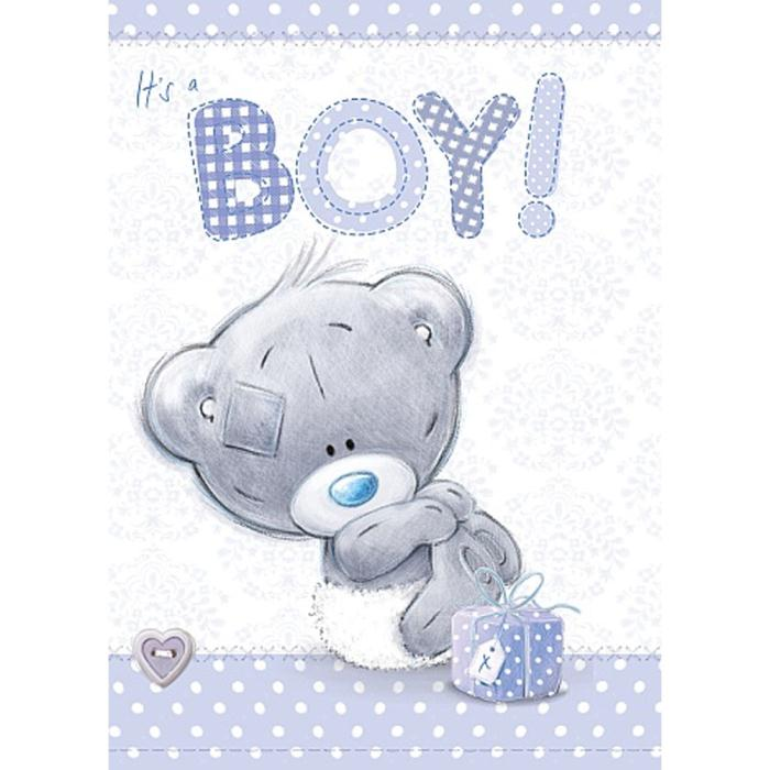 It S A Boy New Baby Me To You Bear Card A92ss015 Me To