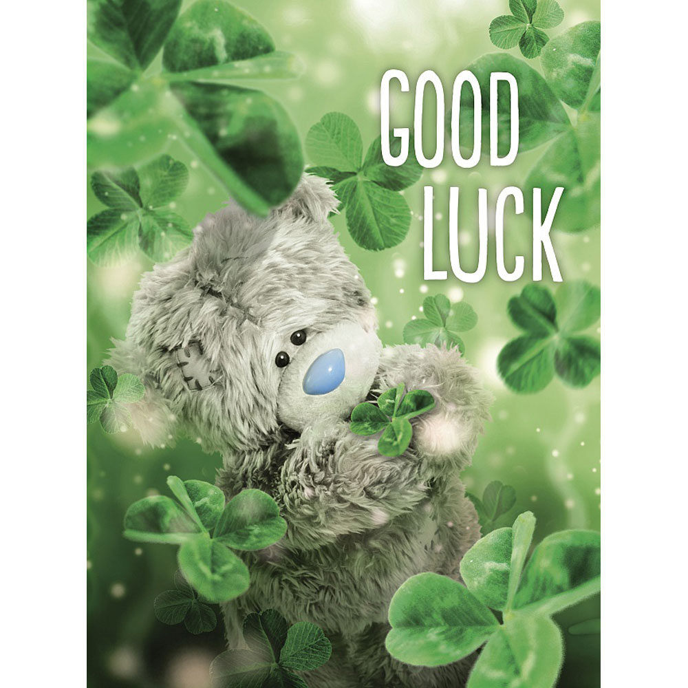 good luck photo finish me to you bear card a93ls006 me