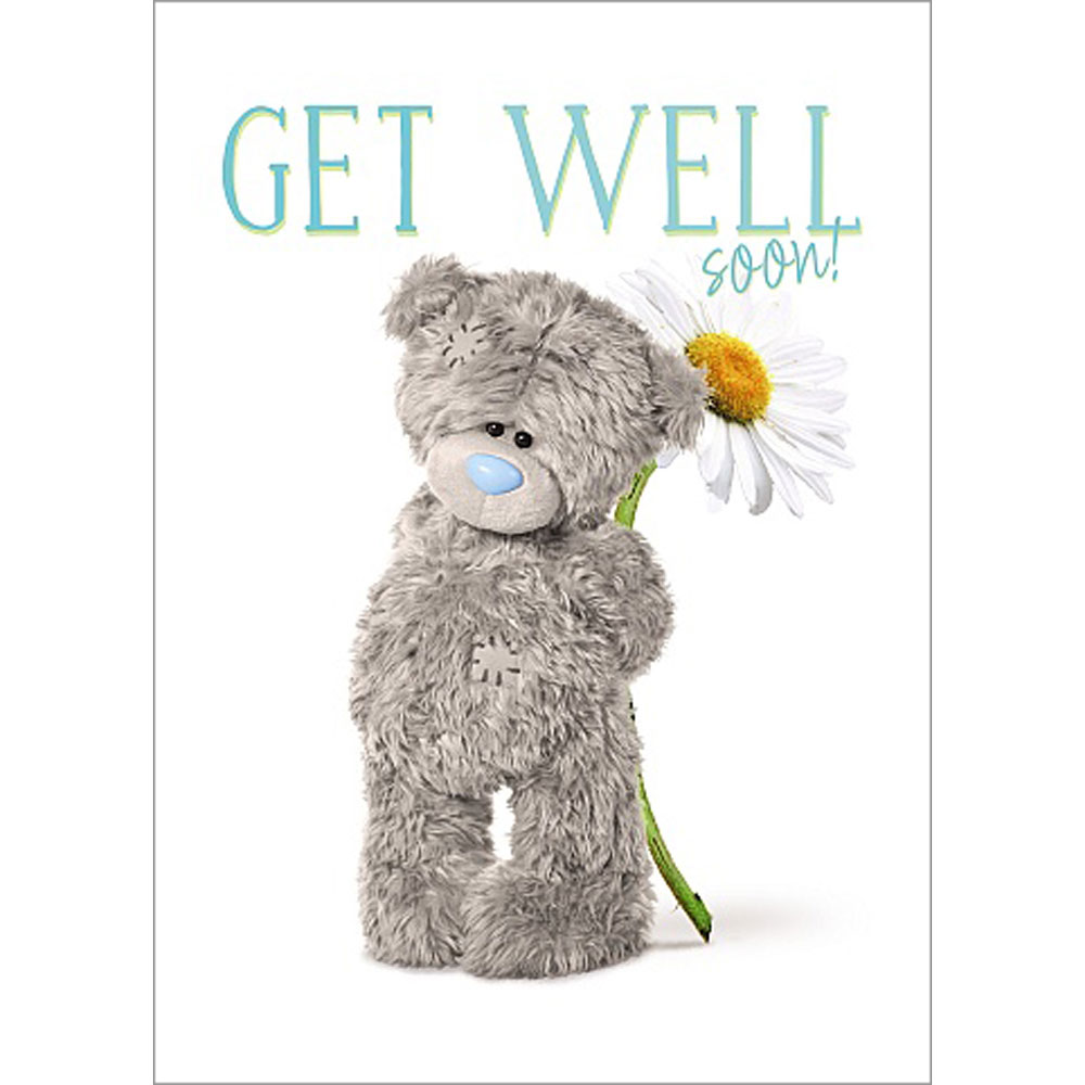 bf207f27aeb Get Well Soon Photo Finish Me to You Bear Card (A93SS027)   Me to ...