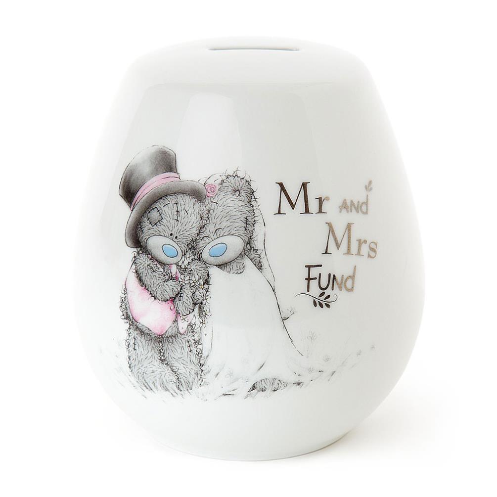 Mr & Mrs Wedding Fund Me to You Bear Money Jar (AGX01002) : Me to ...