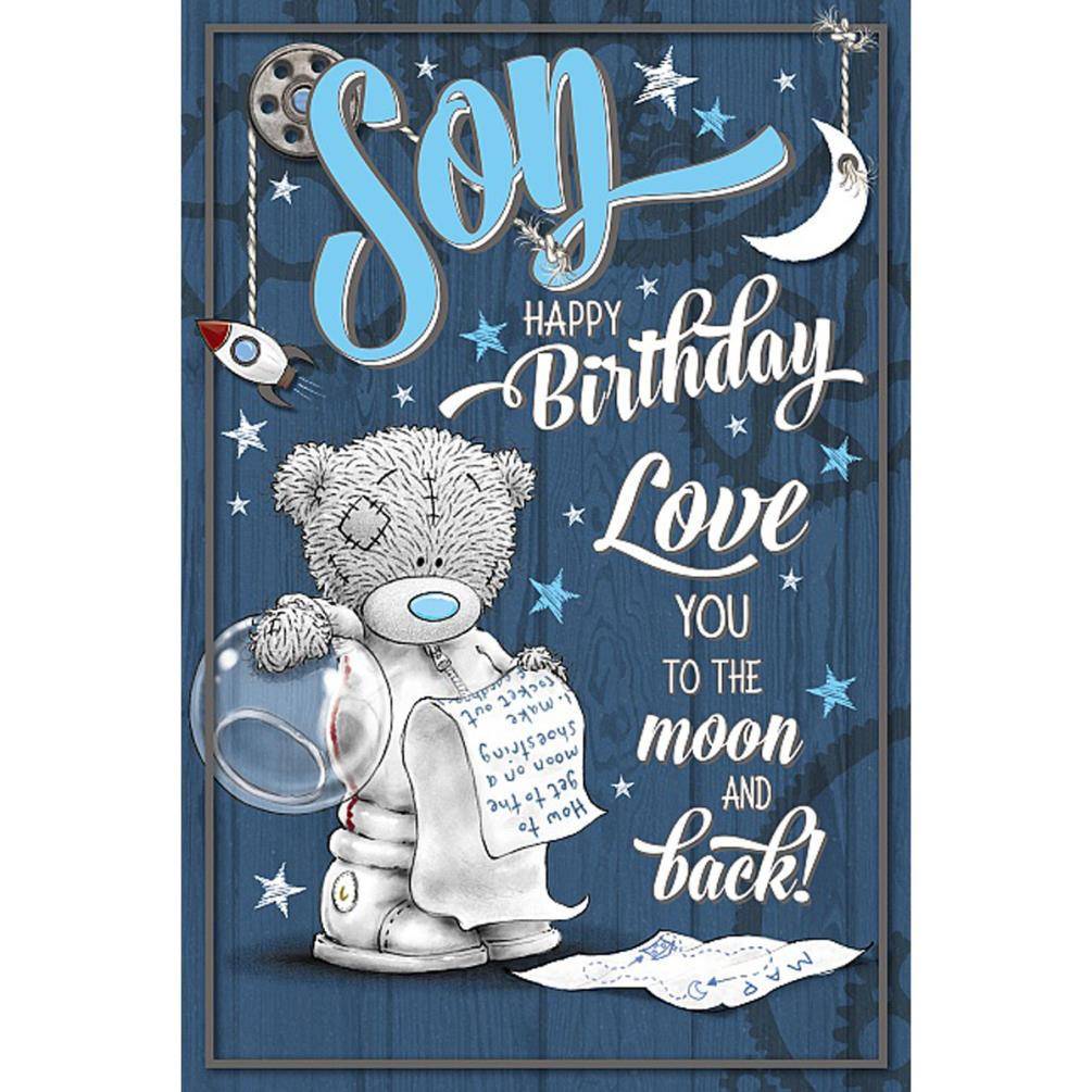 Son Me To You Bear Birthday Card 249
