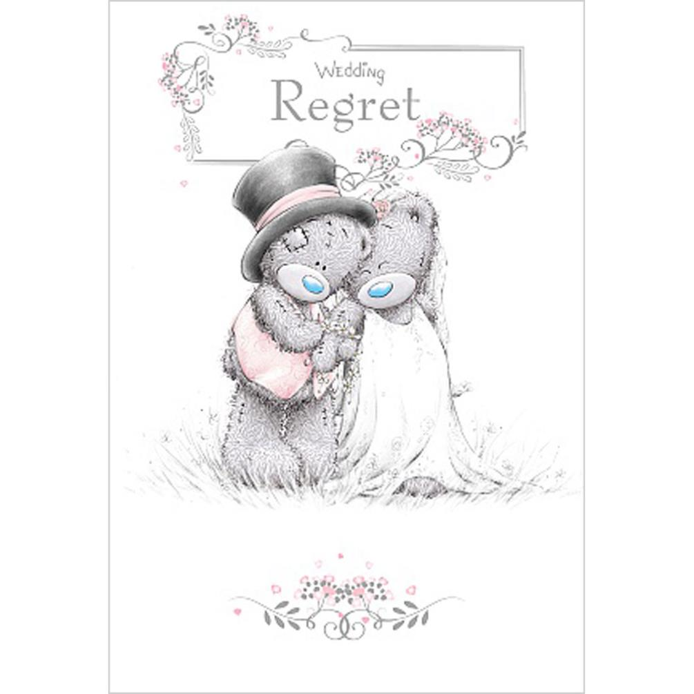 Wedding Regret Me To You Bear Wedding Day Card (ASP01002) : Me to ...