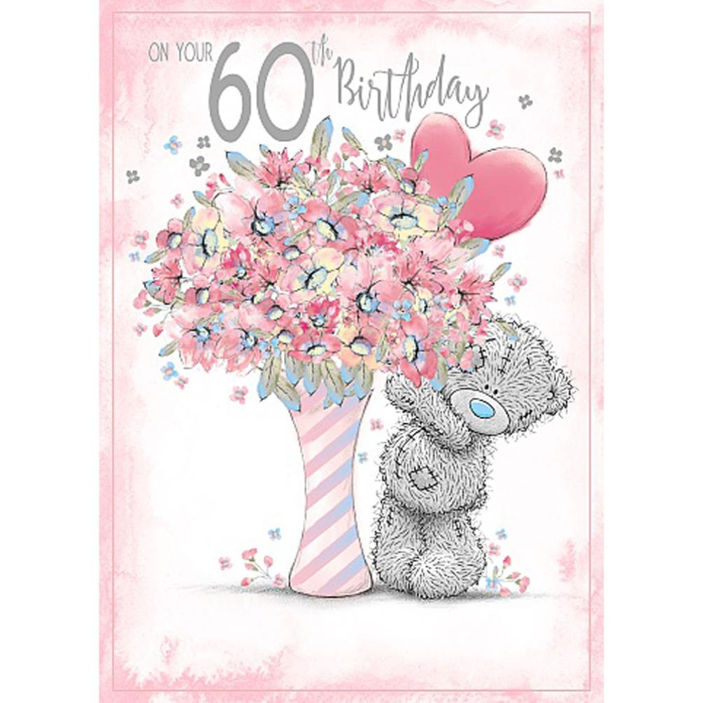 60th Birthday Me To You Bear Card 179