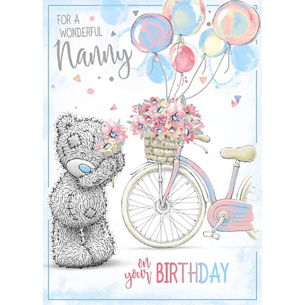 Wonderful Nanny Me To You Bear Birthday Card 179