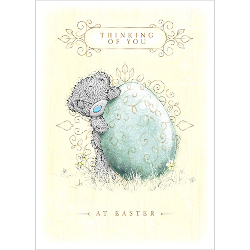 Thinking Of You Me To You Bear Easter Card E01ss059 Me To You Bears Online Store