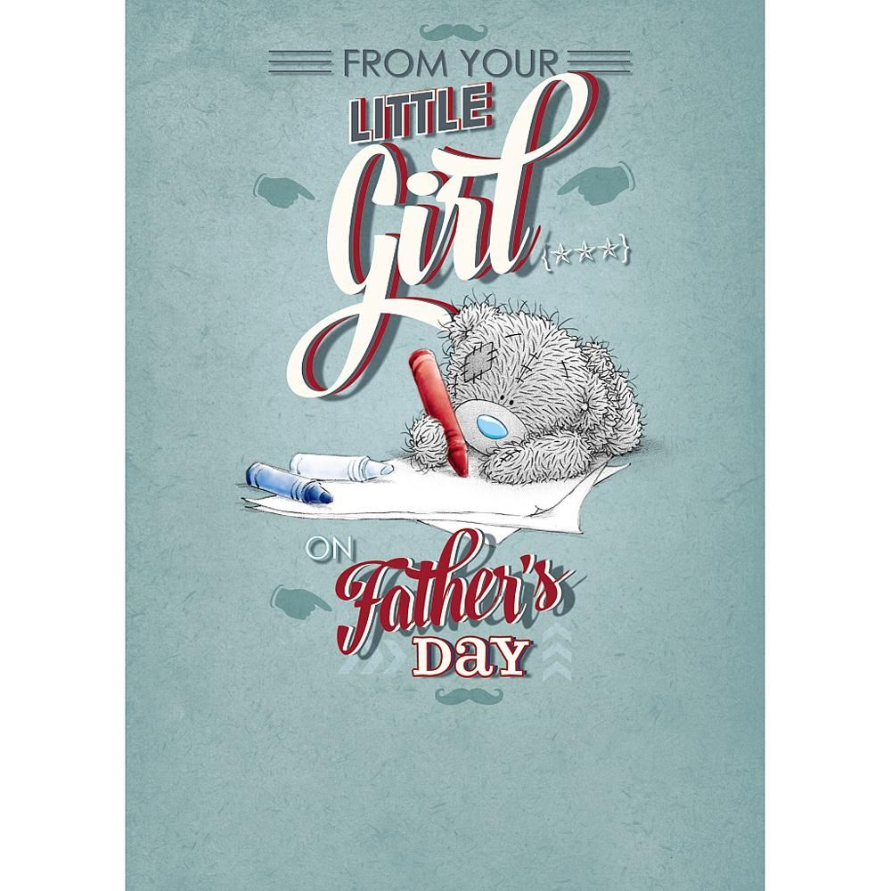 From your little girl me to you bear fathers day card from your little girl me to you bear fathers day card m4hsunfo