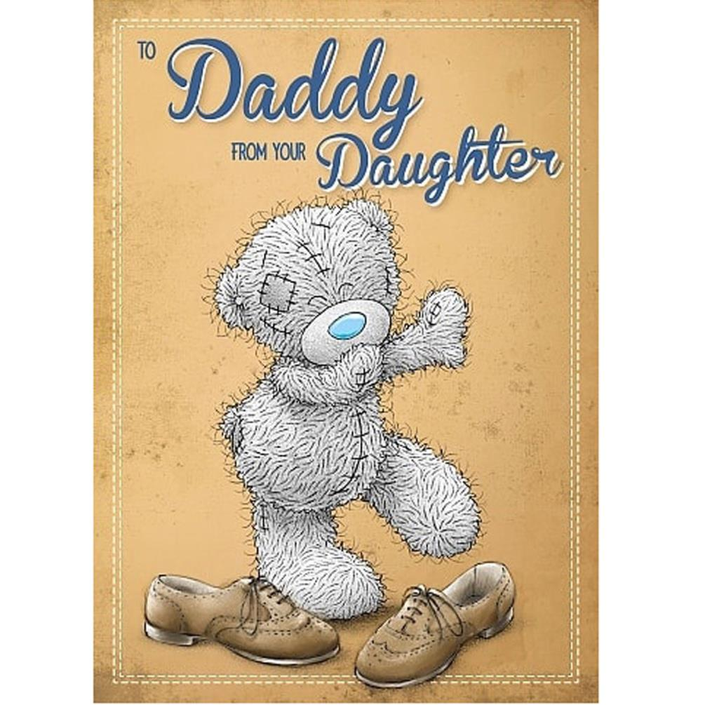 Daddy From Daughter Me To You Bear Fathers Day Card