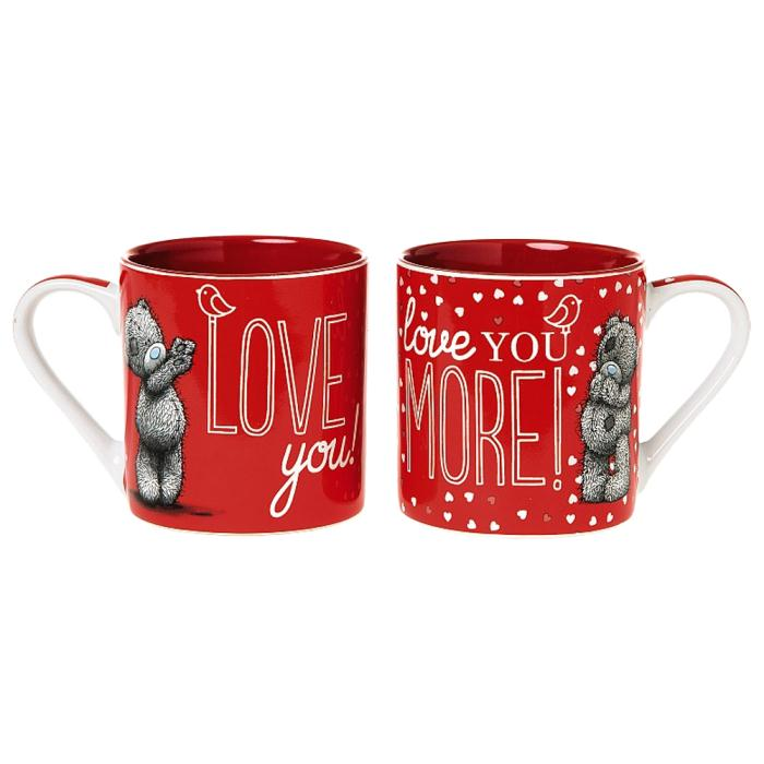 244d2484f56 Me to You Bear Love You Love You More Double Mug Set