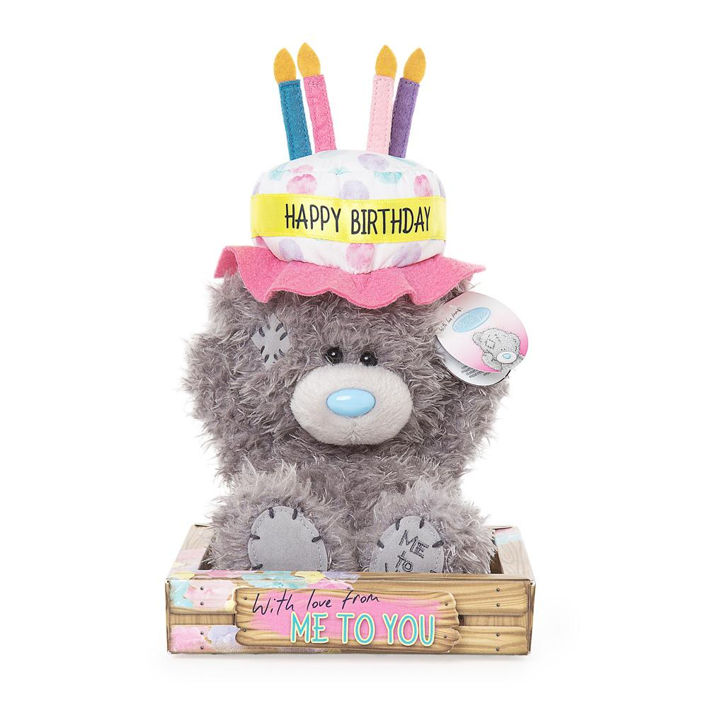 7 Birthday Cake Hat Me To You Bear 999