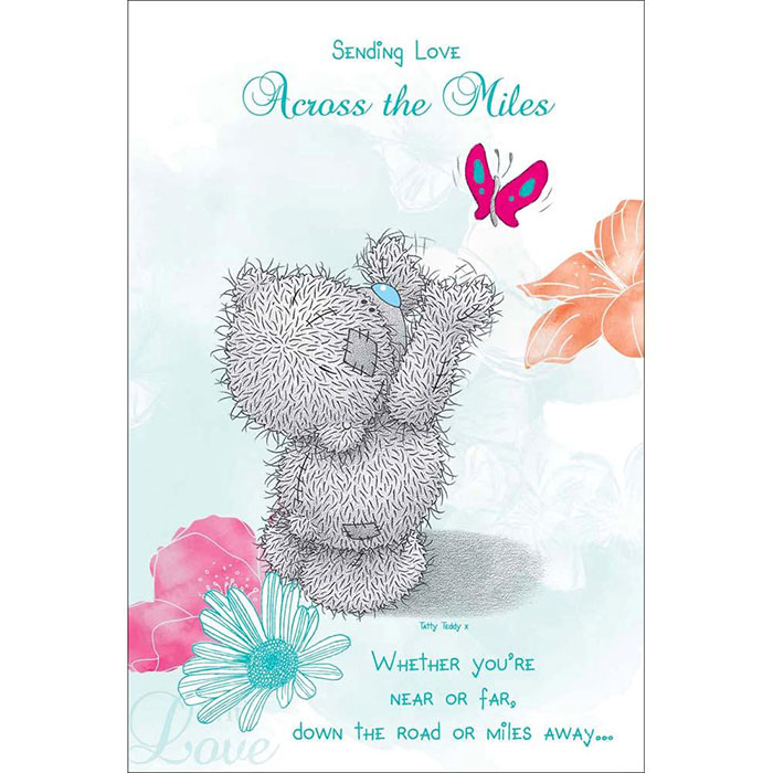 Across The Miles Me To You Bear Mothers Day Card (M01MS022