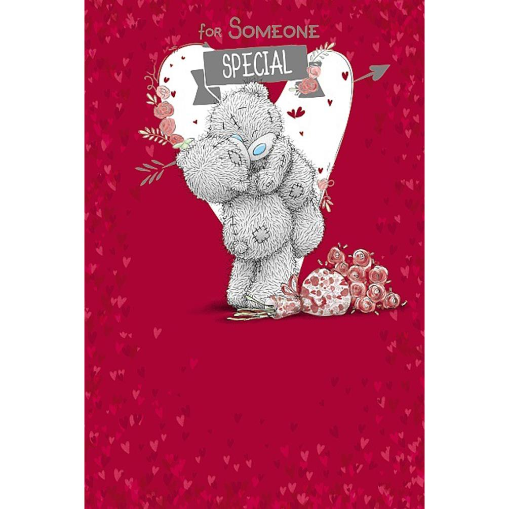 For Someone Special Me To You Bear Valentines Day Card V01ms040