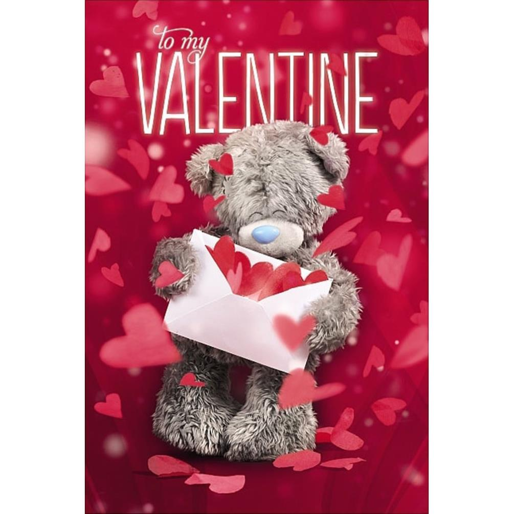 3d Holographic Me To You Bear Valentines Day Card V93mz016 Me To