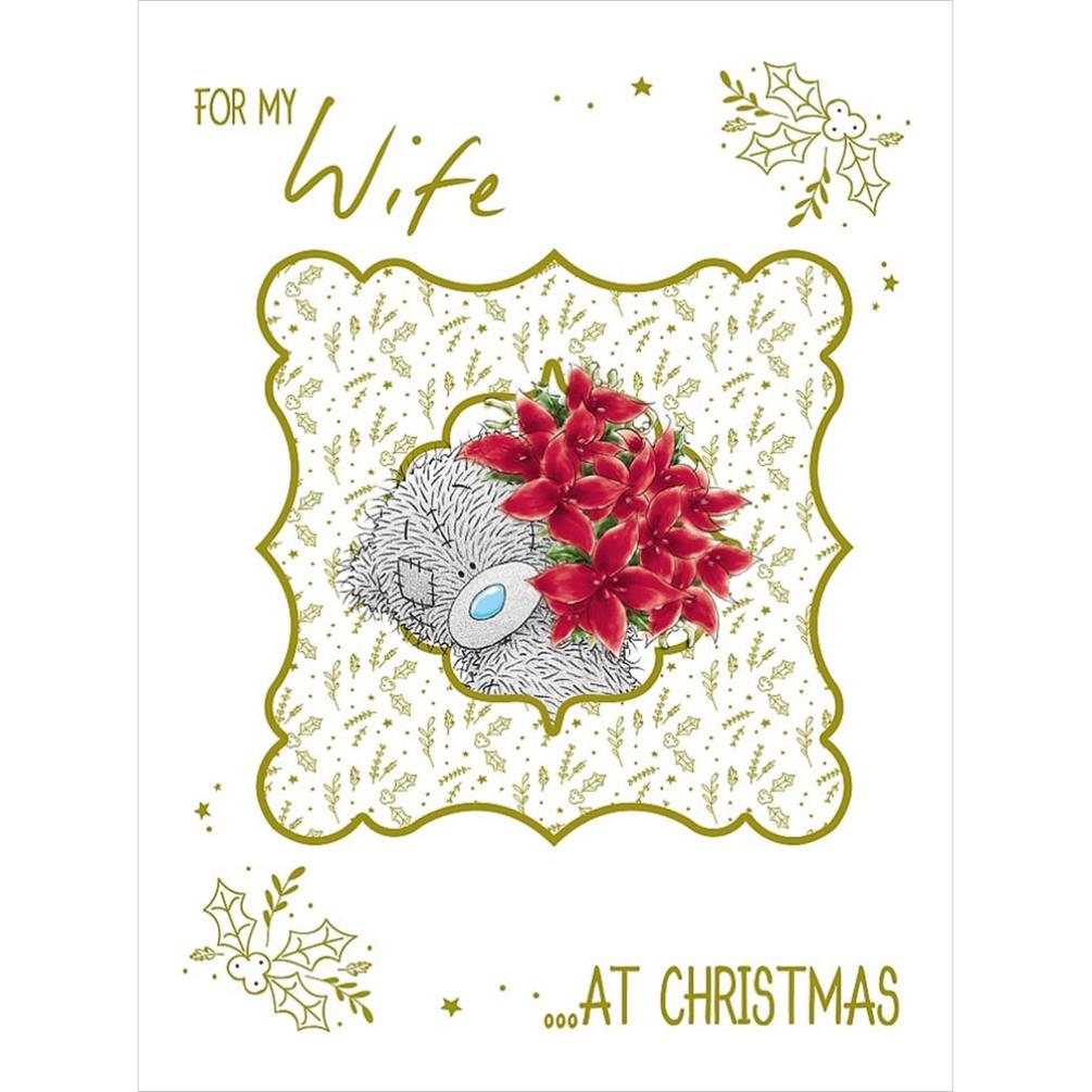 For My Wife Large Me To You Bear Christmas Card X01lz098