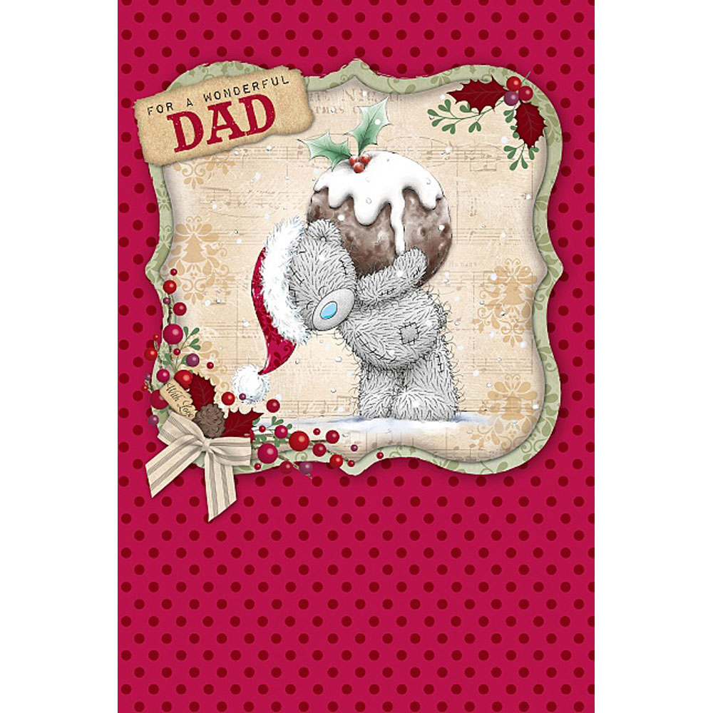 Wonderful Dad Me to You Bear Christmas Card (X01MN103) : Me to You ...