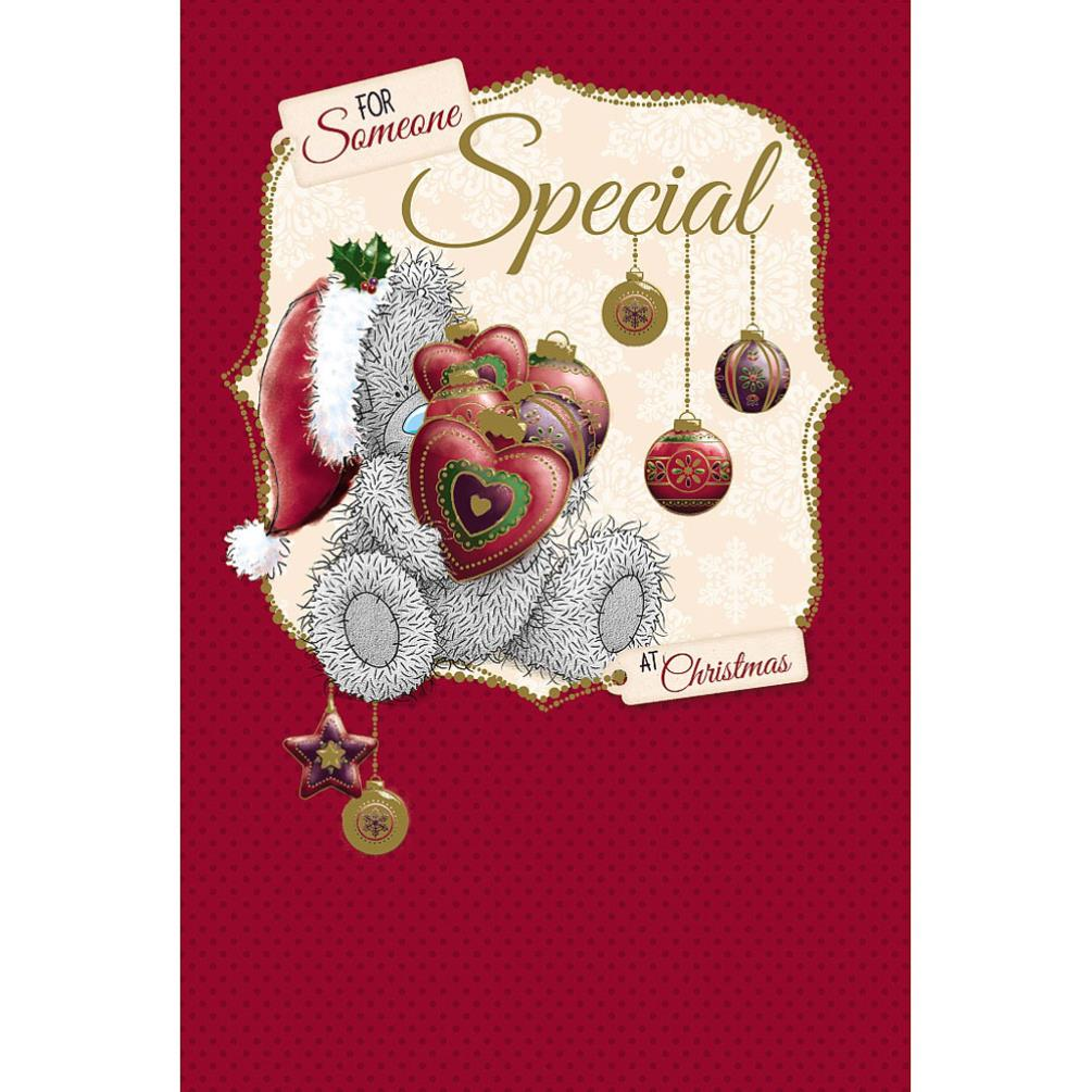 Someone Special Me To You Bear Christmas Card (X01MN148