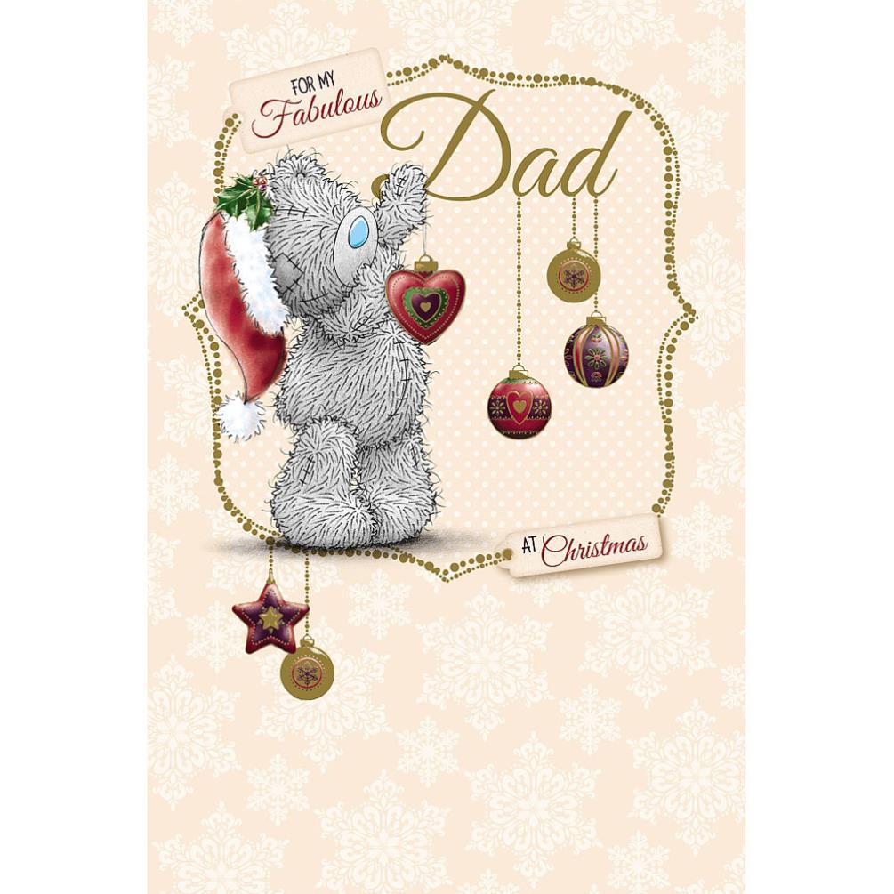Dad Me to You Bear Christmas Card (X01MS257) : Me to You Bears ...