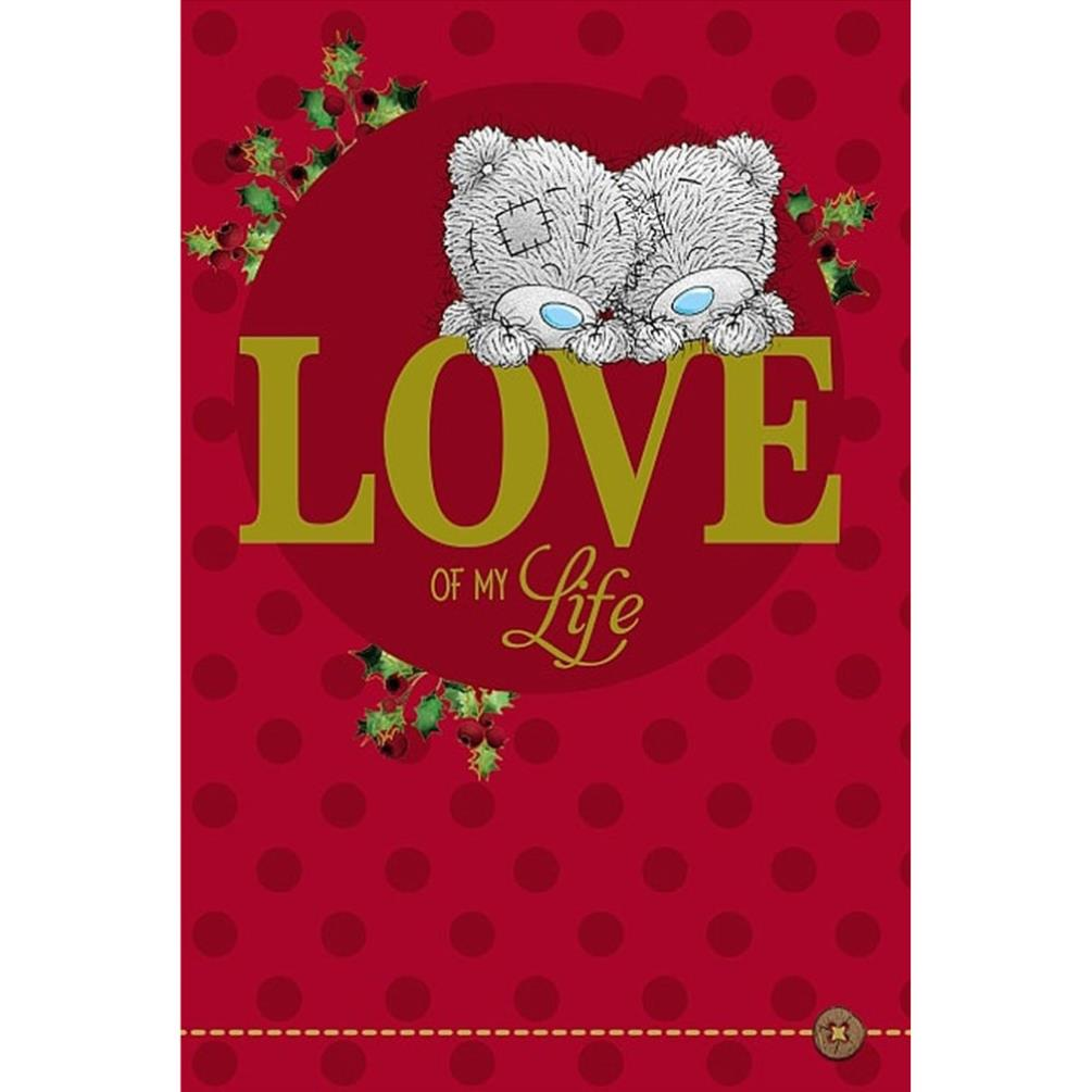 Love of my love me to you bear christmas card x01ms308 me to you love of my love me to you bear christmas card 249 kristyandbryce Choice Image
