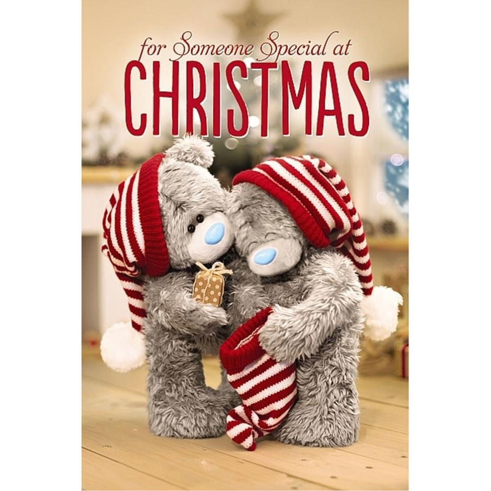 3d holographic someone special me to you bear christmas card 3d holographic someone special me to you bear christmas card 425 kristyandbryce Gallery