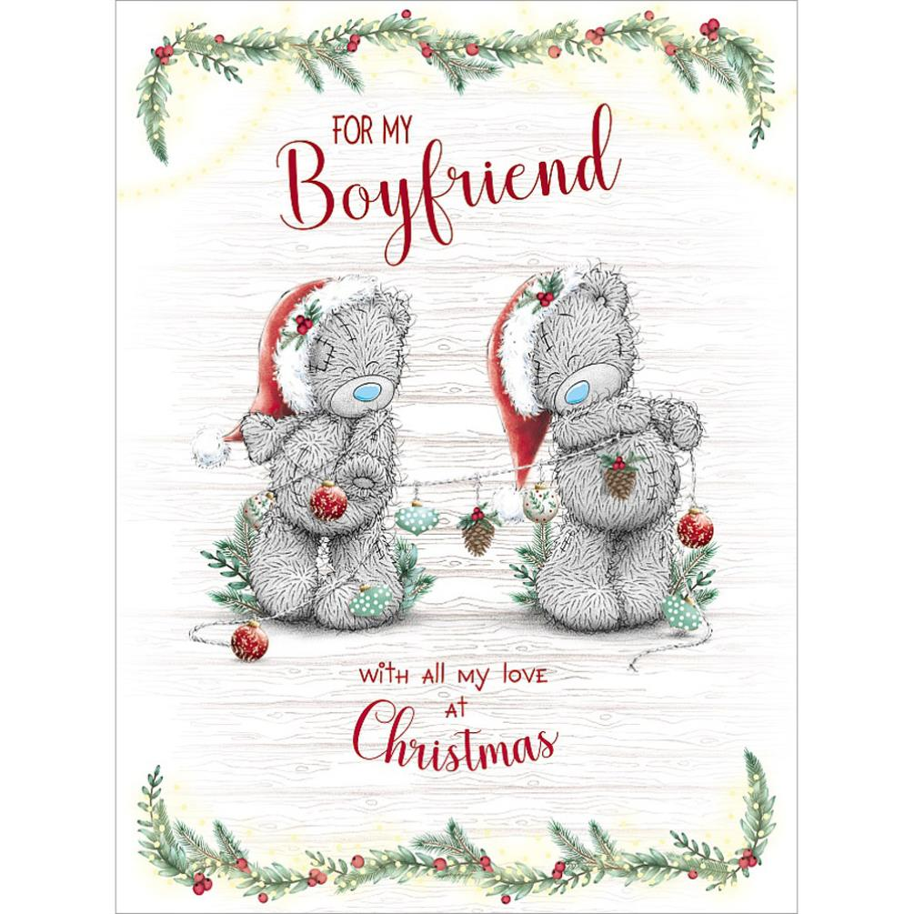 boyfriend large me to you bear christmas card xsl01005